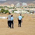 Search for rockets in Eilat (archives) Photo: Yair Sagi, Yedioth Ahronoth
