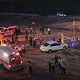 The accident Photo: Avi Rokach