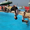 Kids enjoying the hot summer Phoo: AP