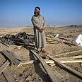 Demolition in al-Arakib Photo: AFP