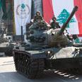 Lebanese soldiers. Won't start war Photo: AP