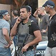 Forces rush to scene Photo: Yaron Brener