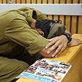 One of suspects in court Photo: Avishag Shear-Yeshuv