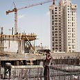 Construction in Har Homa (archive) Photo: AP