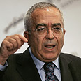 Fayyad. Left meeting angry Photo: AP