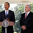 US President Obama (L) and Prime Minister Netanyahu. US-Israel relations satisfactory Photo: AP