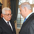 'Sincere effort.' Abbas (L) with Bibi in Washington (archives) Photo: GPO