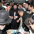 Rabbi Pinto in Bulgaria Photo: Ilan Sirota