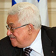 Abbas. Freeze as condition fr talks Photo: AFP