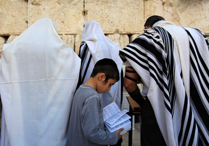 Jewish population growing (Photo: Reuters)