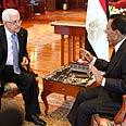 Abbas and Mubarak Photo: AFP