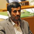 Ahmadinejad in the UN Photo: AFP