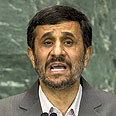 Ahmadinejad. Busy schedule Photo: AP