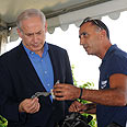 Netanyahu on a tour of Sderot and Ashkelon