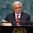 Palestinian President Abbas at the UN. Pressure at home Photo: Reuters