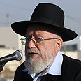 Rabbi Dov Lior Photo: Gil Yohanan