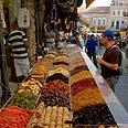 Mahane Yehuda Market. Merchants refuse to give in Photo: Atta Awisat