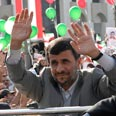 Iranian President Mahmoud Ahmadinejad in Lebanon Photo: AP