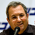 Defense Minister Barak Photo: AP