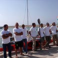 The Terra Santa team - Cyprus to Israel by Kayak Photo: Kobi Sade