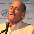'No apologies.' Olmert Photo: Hadar Cohen
