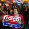 Marco Rubio supporters at a Florida 'Tea Party' Photo: Reuters