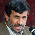 Ahmadinejad. Denies Holocaust Photo: AFP