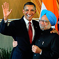 With Singh Photo: AFP