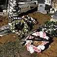 Children's grave Photo: Ido Erez