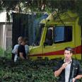 Ambulance at Chaim Sheba Medical Center Photo: Yaron Brener
