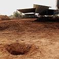 Grad landing site Photo: Eliad Levy