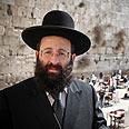Rabbi Rabinowitz. 'Not part of my worldview' Photo: Noam Moskowitz