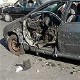 Prof. Fereidoun Abbasi's car after attempted killing
