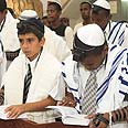 Every year, project organizes event in honor of bar mitzvah boys (archives) Photo: Yoram Lalum