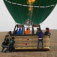 Hot-air balloon (archives) Photo: Ziv Reinstein