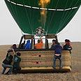 Hot-air balloon (archives) Photo: Ziv Reinstein