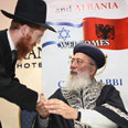 Rabbi Kaplan with Chief Sephardic Rabbi of Israel Shlomo Amar Photo: Meir Alfasi