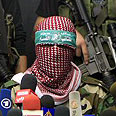Hamas' military wing talks tough Photo: AFP