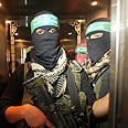 Hamas gunmen - Freedom fighters? Photo: Reuters