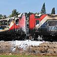 'Panic everywhere.' Train after fire Photo: Ben Kelmer