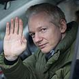 Sensitive info. Assange Photo: AFP