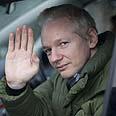 Sensitive info. Assange Photo: AFP