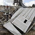 Homes razed in e. Jerusalem (Archives) Photo: AFP