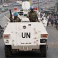 UN troops keeping peace Photo: AP