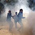 Riots in Tunis Photo: AP