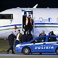 Plane used by Ben Ali to flee Tunisia Photo: AP