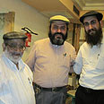 Rabbi Hatab (center): No problem with Islamic leaders Photo: Chabad website