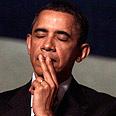 Poker player. Obama Photo: AP