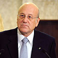 Lebanese PM Mikati Photo: AP