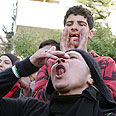 Protesters in Amman Photo: Reuters